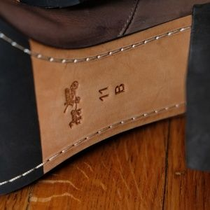 Coach Shoes - Coach Odelle Leather Brown Boots